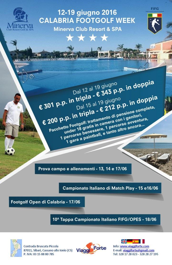 Calabria Footgolf Week Marina di Sibari